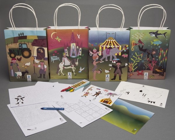 Activity Bags - Paket Design 1 (à 200 Stück)